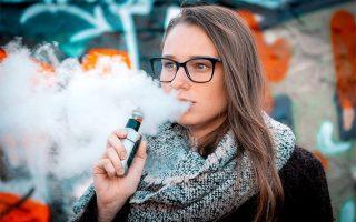 Smoking and Vaping on Skin